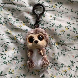 Ty Beanie Boos Spike the Hedgehog Plush Keychain